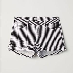 H&M Vertical Striped Shorts